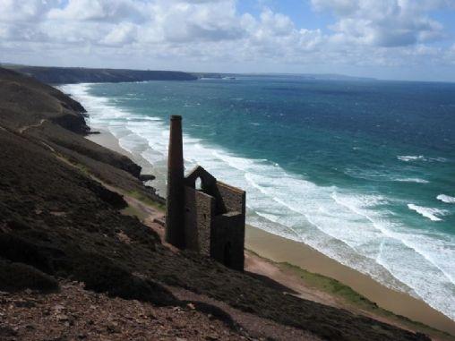 St Agnes To Porthtowan Walk Cornwall Coast Path