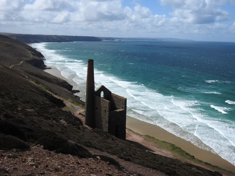Wheal Coates between St Agnes and Porthtowan