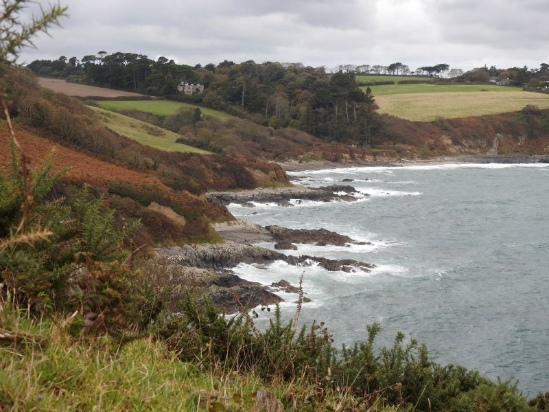 Gatamala Cove in the foreground with Bream Cove Beyond