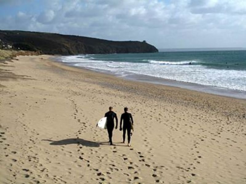 Praa Sands Cornwall, Tourist Guide & Map, Events