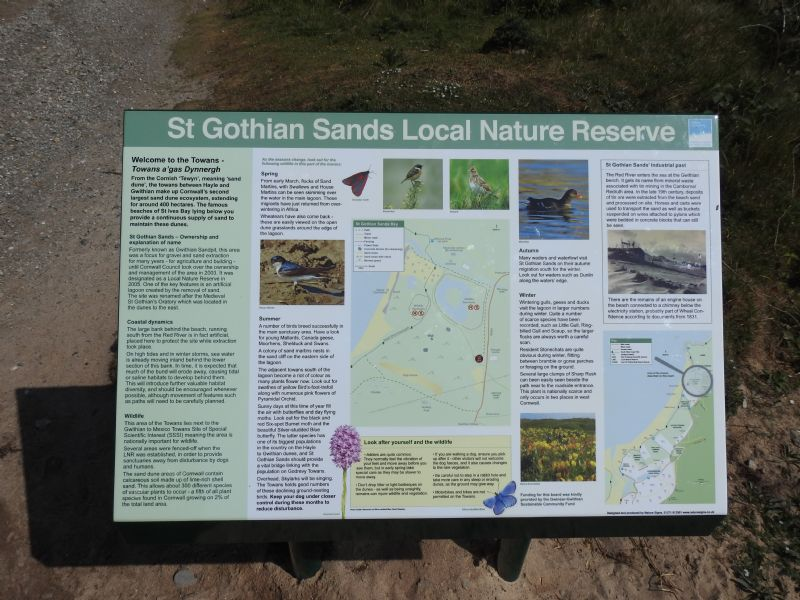 St Gothian Sands Local Nature Reserve