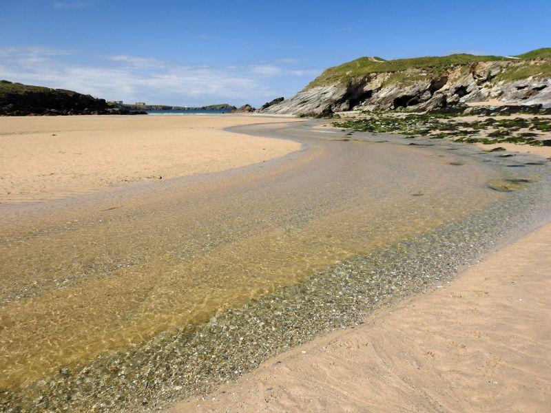 Porth (Newquay) Cornwall, tourist guide & map, events