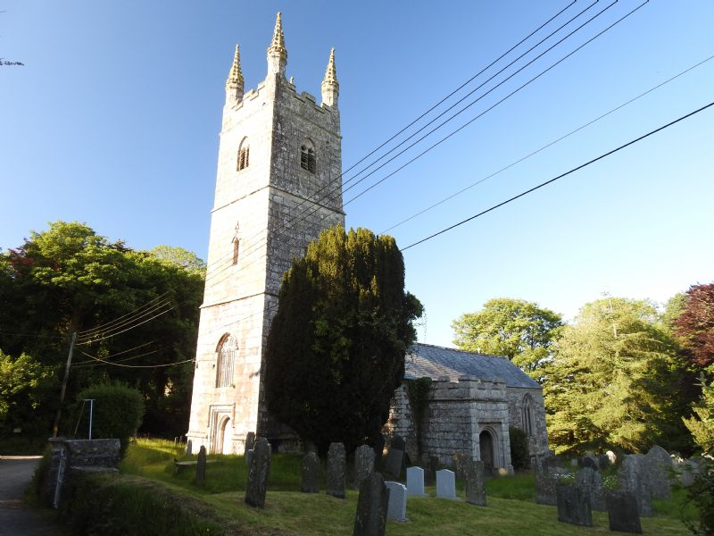 Jacobstow Parish Church dedicated to St James