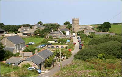 Zennor churchtown