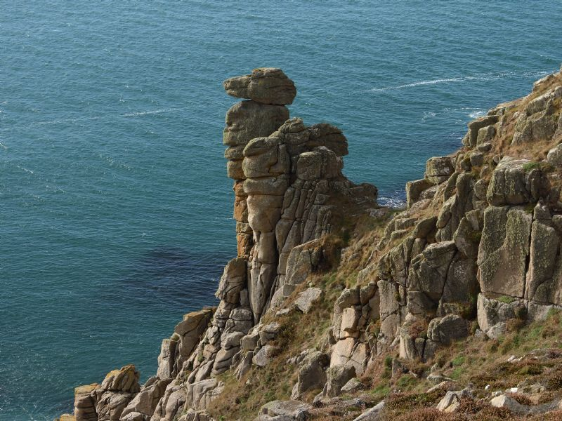 Camel Rock - Praa Sands to Porthleven - Walk - Cornwall Coast Path