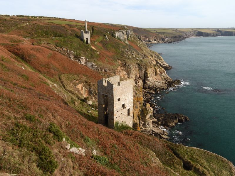 Wheal Trewavas - Praa Sands to Porthleven - Walk - Cornwall Coast Path