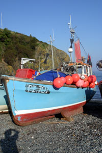 Fising boat at Cadgwith