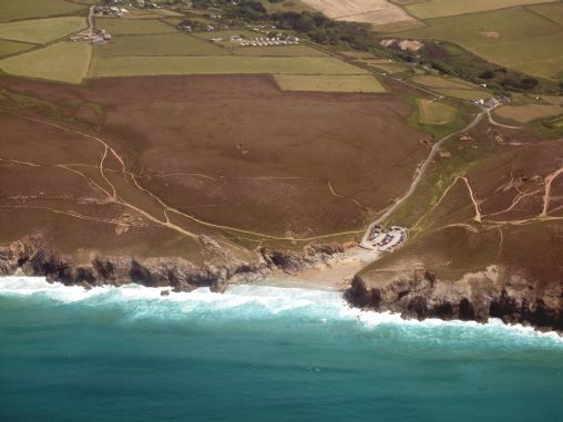 Chapel Porth - Aerial View