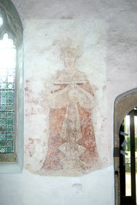 Fresco in Breage Church