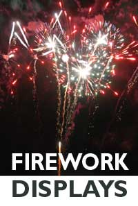 Firework Displays in Cornwall 2014